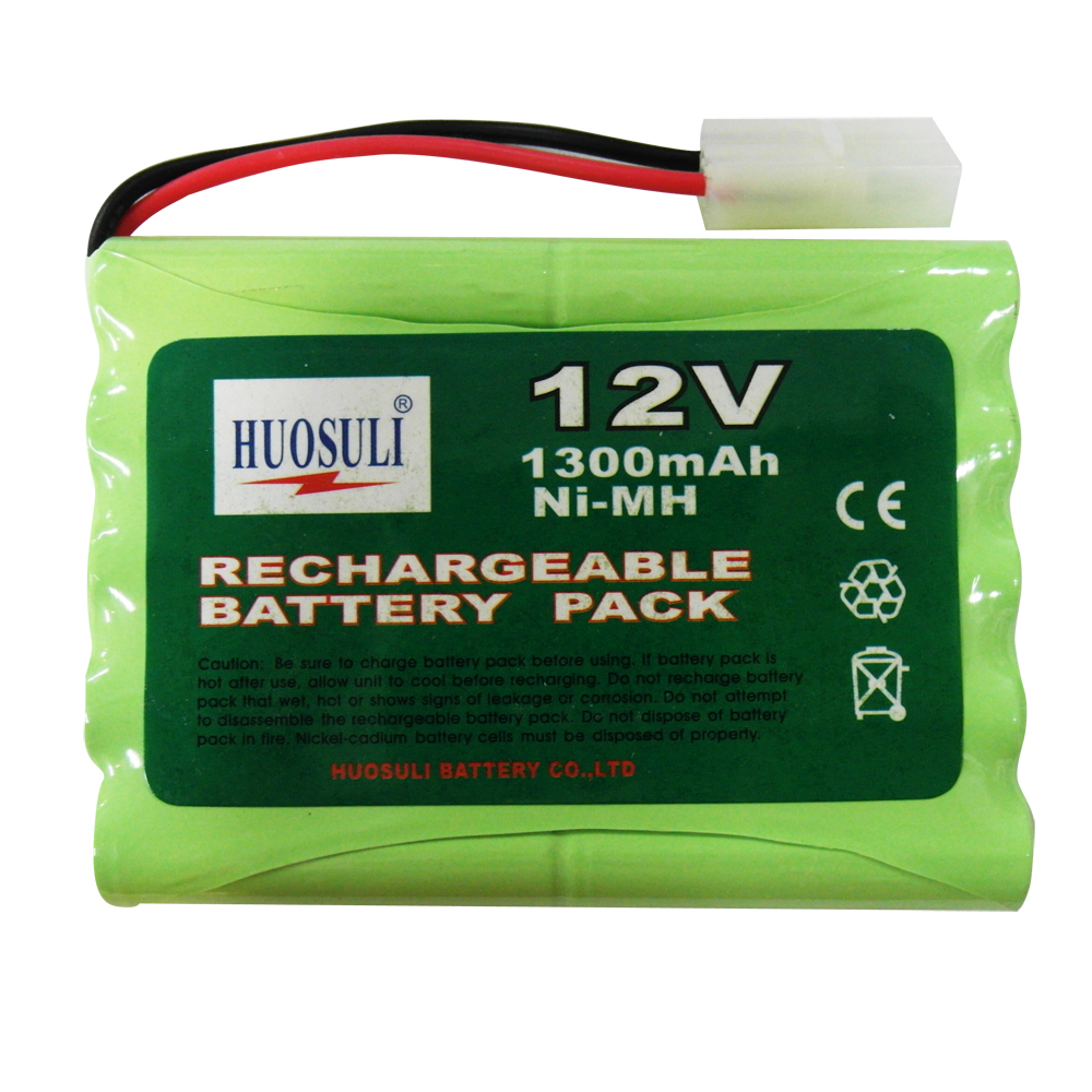 1 pcs 12v 1300mah ni mh rechargeable battery pack rc tamiya ebay. Black Bedroom Furniture Sets. Home Design Ideas
